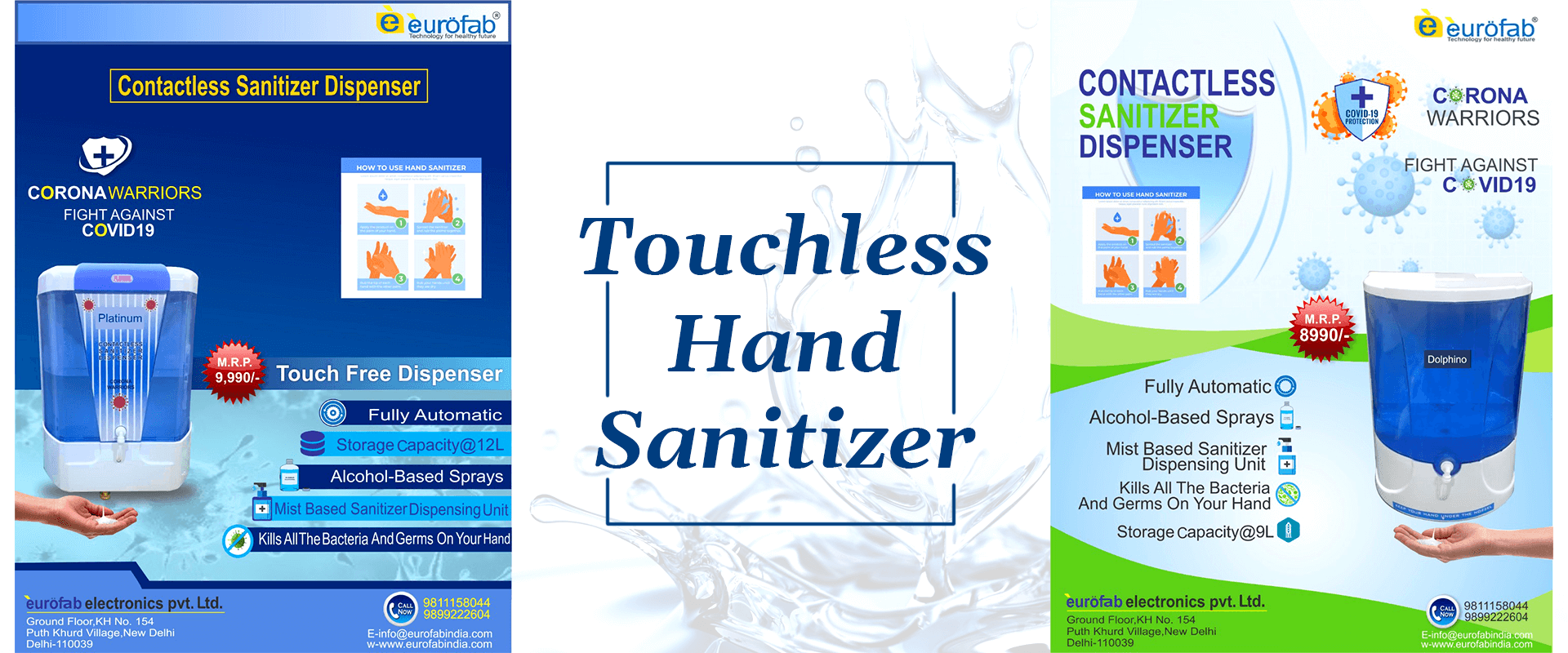Touchless Hand Sanitizer